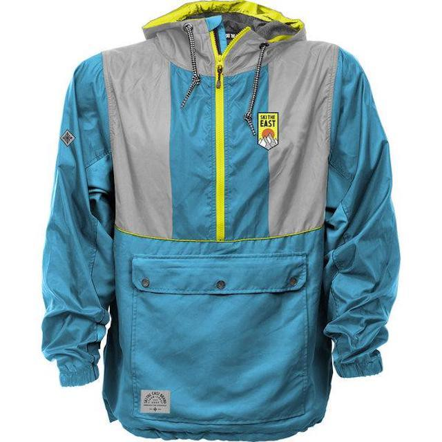 SKI THE EAST - Gale Force Half Zip Windbreaker