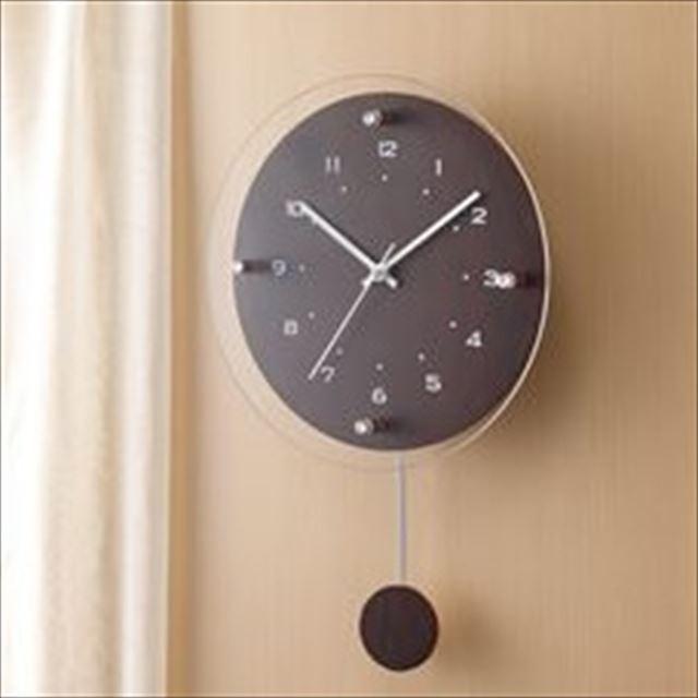 振り子時計 電波時計 ナチュラル Antilles ~アンティール~ W-473 ノア精密 - メイン画像