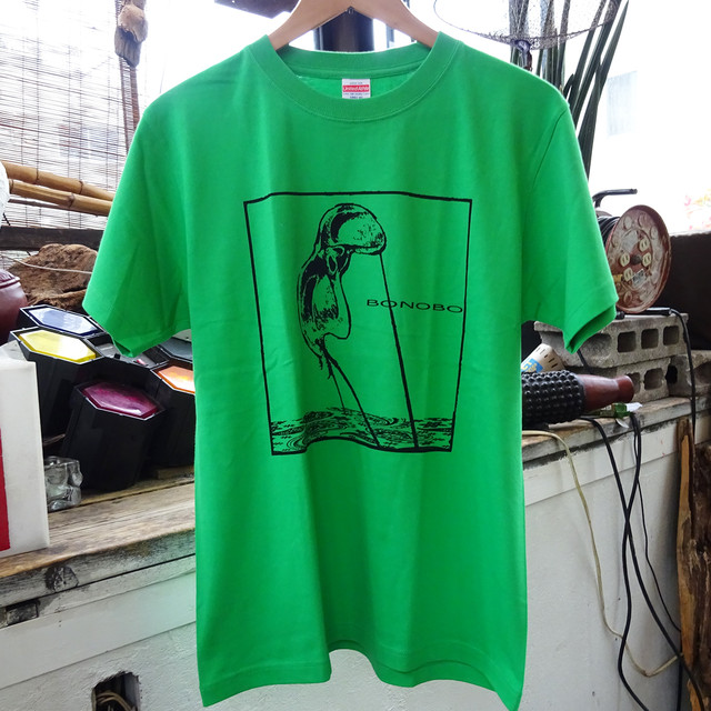 [ T-SHIRT ] 37Aデザイン /  bonoboTシャツ ( GR / HG )
