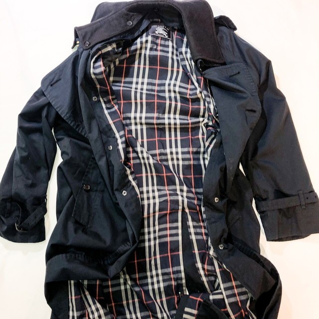 Burberry big blouson