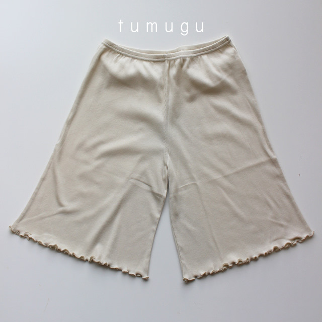 【tumugu:】TC20201 コットンノヴァテレコインナーパンツ