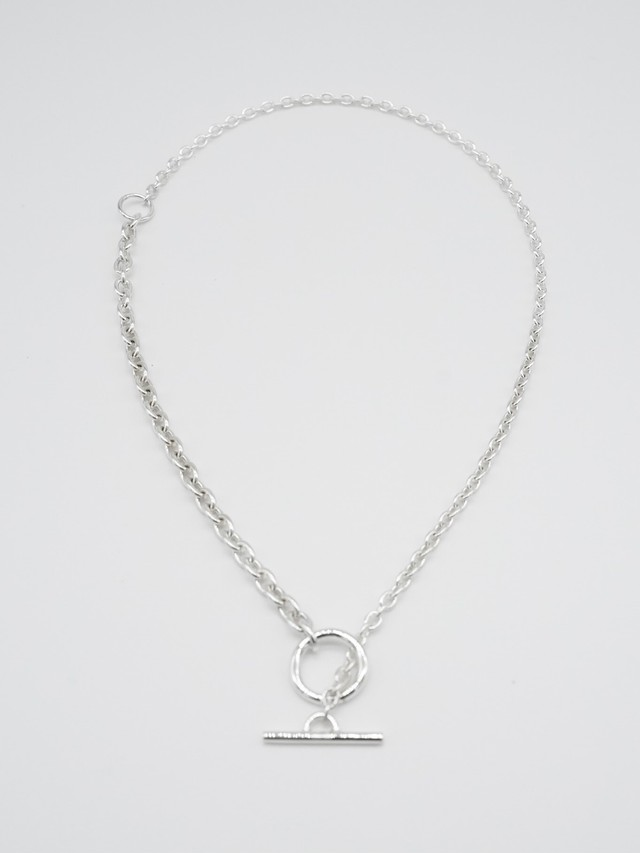 <受注販売>multi double chain necklace silver