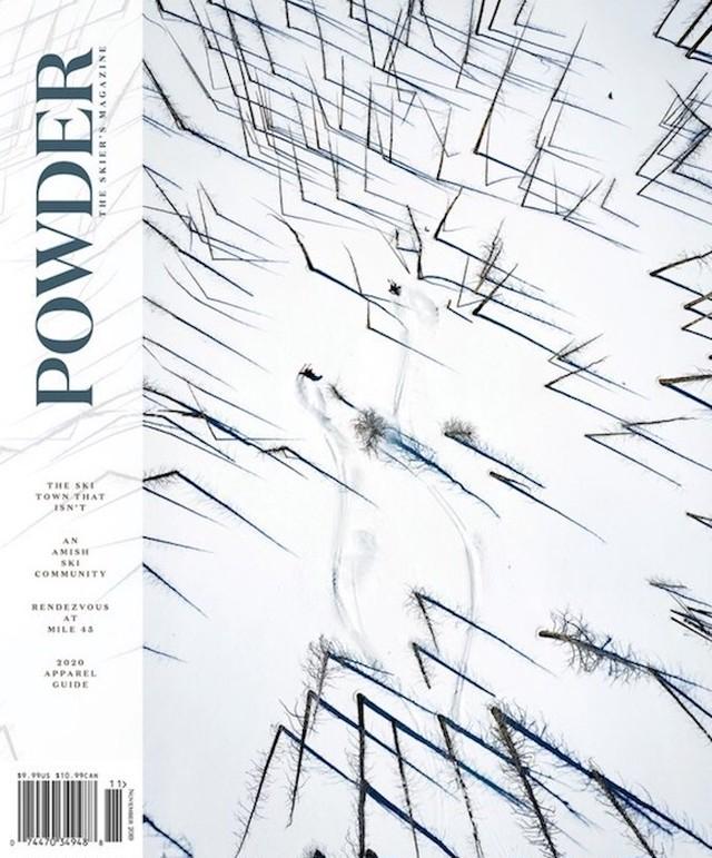 POWDER 2019年11月号(スキー雑誌)