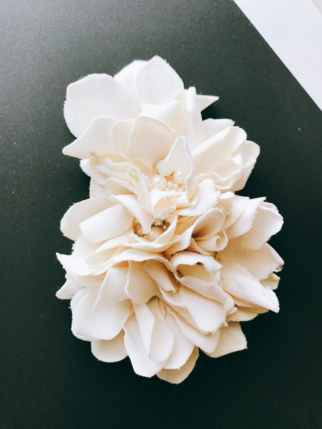 Tulle Cloth flower