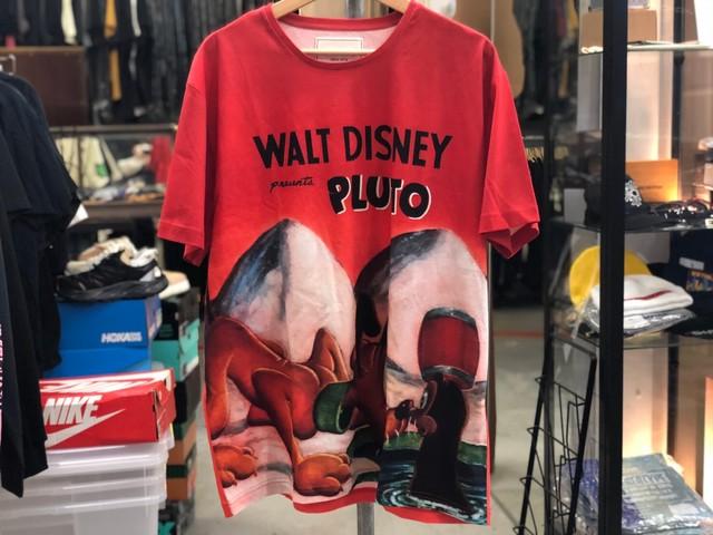 ICEBERG × WALT DISNEY PLUTO TEE RED 3XL 10JI8381