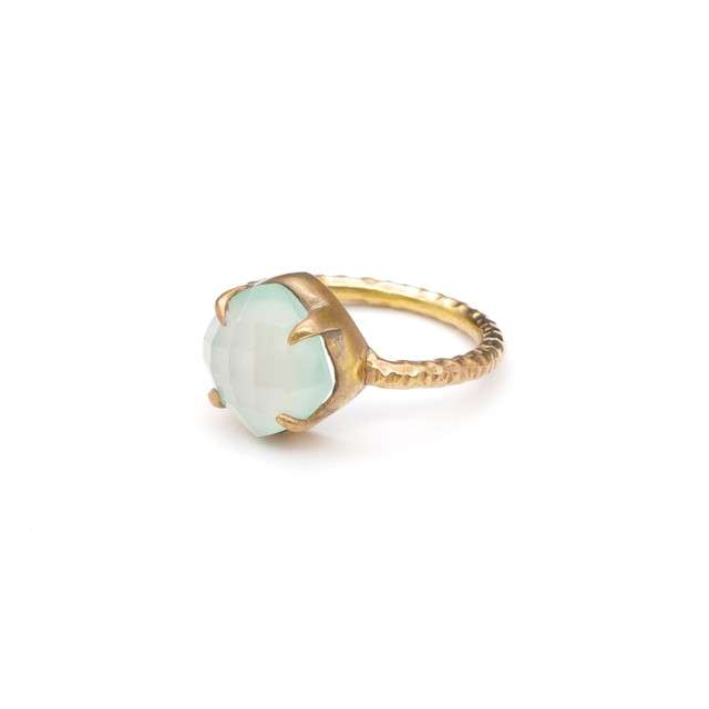 SINGLE STONE NON-ADJUSTABLE RING 020