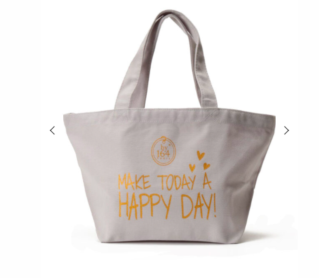 by164PARISランチバッグ<MAKE TODAY A HAPPY DAY!>