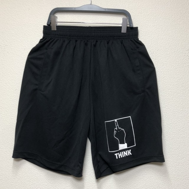 THINK DRY SHORTS (BLACK×WHITE)