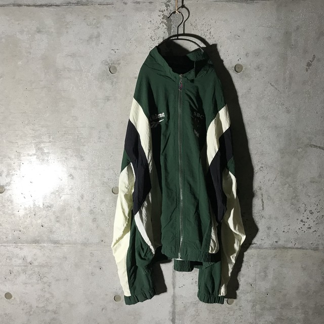 [Reebok] SBC pointed nylon jacket