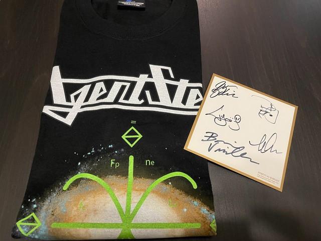 【サイン色紙付き】AGENT STEEL 初来日記念限定Tシャツ