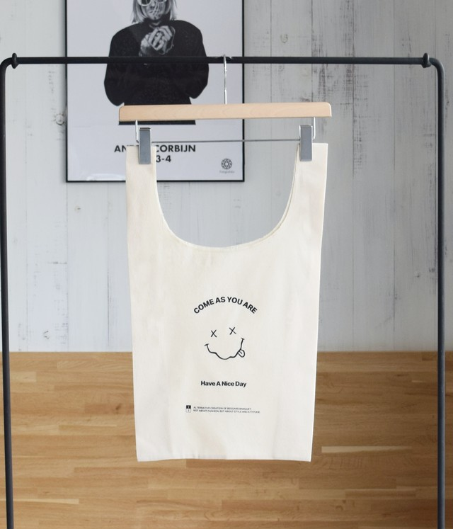 ECO BAG -COME AS YOU ARE-