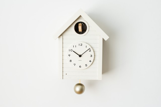 〈NEW〉鳩時計 Cuckoo CLOCK 【WHITE】