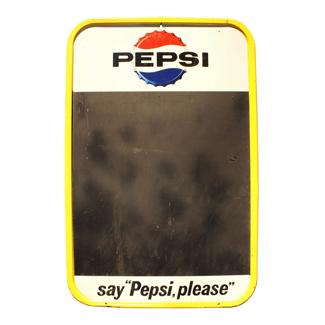 "PEPSI say ""Pepsi,please"""