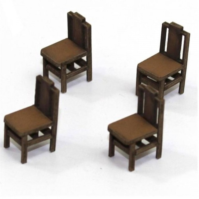 【予約発注】 Square Back (B) Chair 28S-FAB-011L