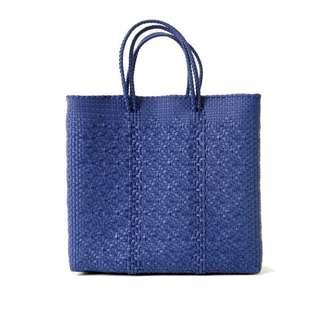 MERCADO BAG ROMBO - Navy(M)