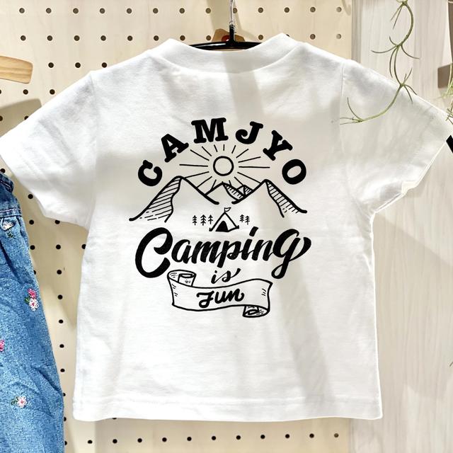 【子供用】2021CAMJYOオリジナルTシャツ