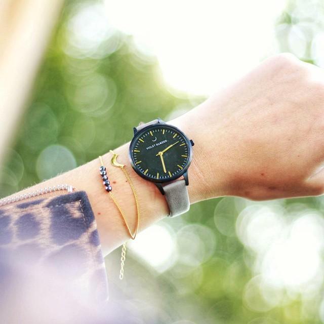 ■バイオレットハムデン 腕時計 Day & Night 38㎜ VH00116
