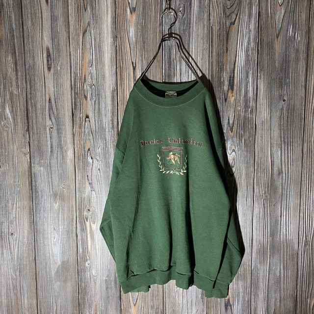 [used]ducks embroidery sweat