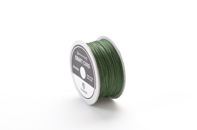 WAX CORD/ FOREST GREEN/ 0.5㎜ /30meter