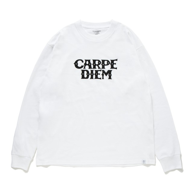 BEDWIN & THE HEARTBREAKERS x CARPE DIEM Long Sleeve shirt (白)