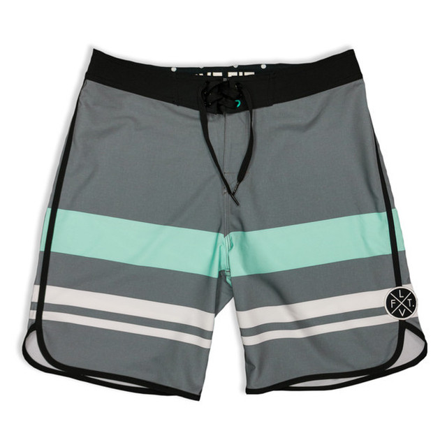 LIVE FIT Wedge Boardshorts - Grey  SF801