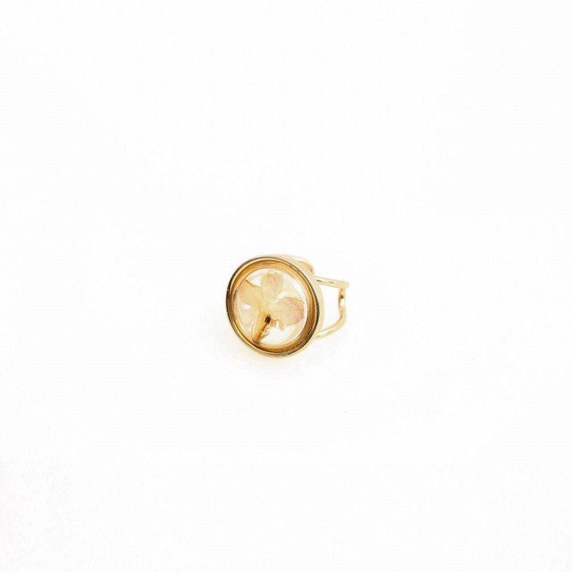 Pressed Flower Ring