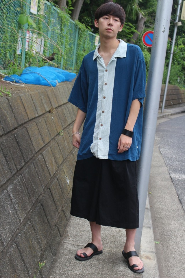 Remake HAKAMA Pants (BLACK)