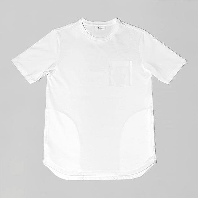 オーセンティックポケットT / WHITE