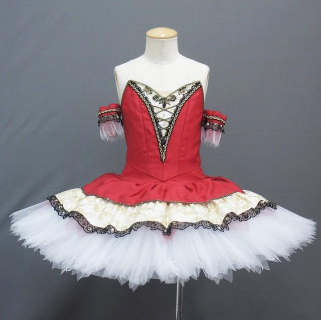 【受注販売】バレエ衣装 CC179_クラシックチュチュ