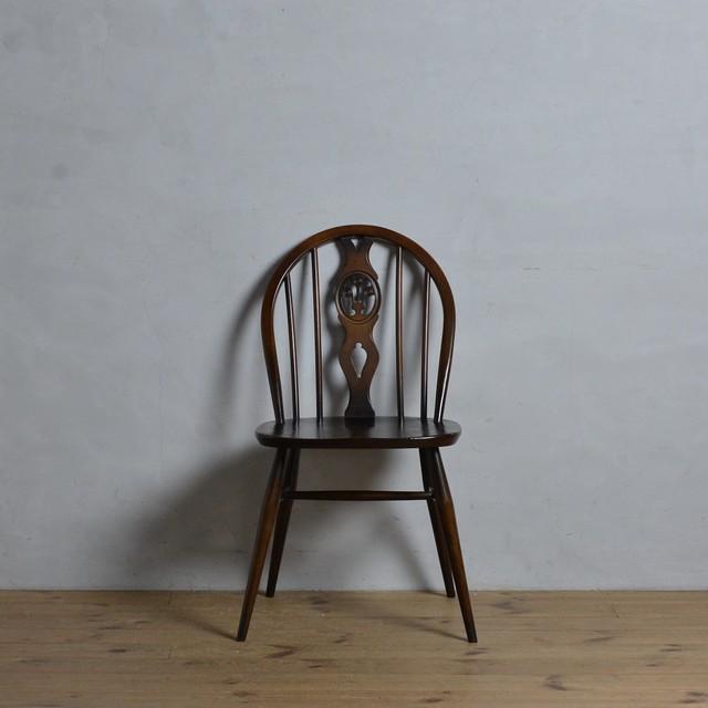 Ercol Thistleback Chair 【C】 / アーコール シスルバック チェア 〈ダイニングチェア・デスクチェア・椅子・コロニアル〉 112178