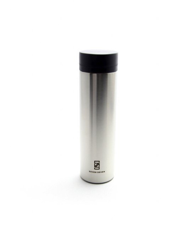 SEVEN SEVEN (セブンセブン) tsutsu tumbler (ツツ タンブラー) ステンレス真空ボトル・タンブラー (ステンレスシルバー) 【270ml】