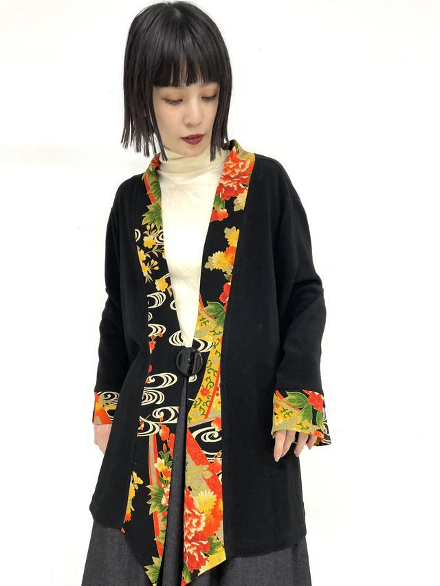 oriental design cardigan jacket / 3SSOU10-20