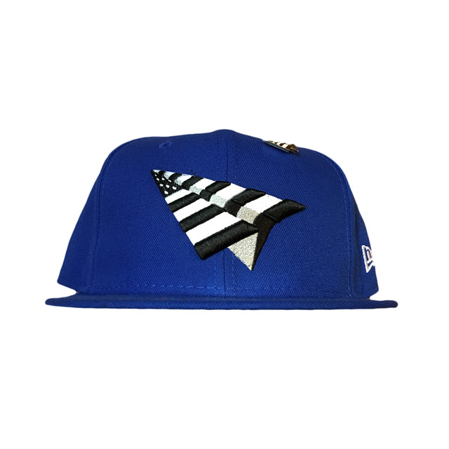 Sale Paper Planes Crimson Crown Fitted / Blue