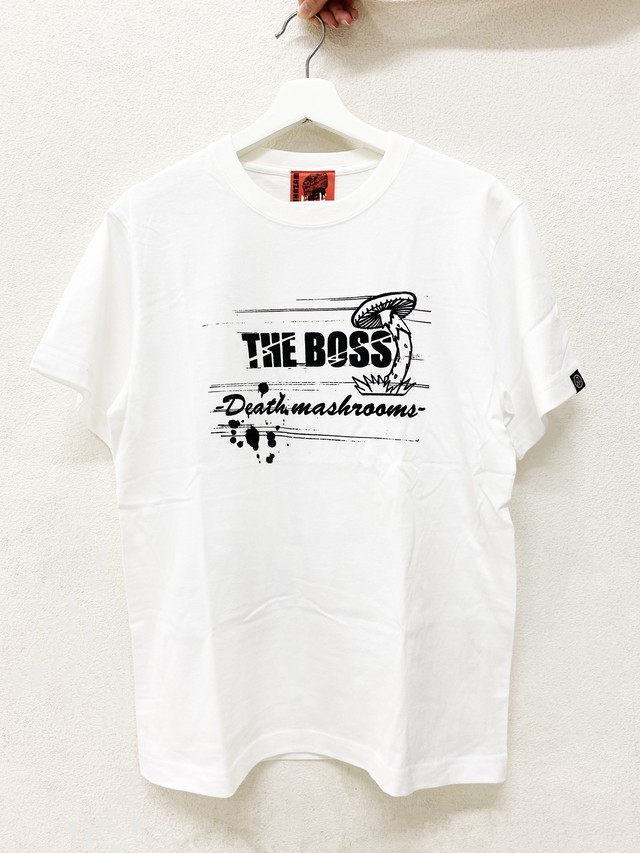 """〈ドロヘドロ〉煙 """"THE BOSS""""Tシャツ(WHITE)"""