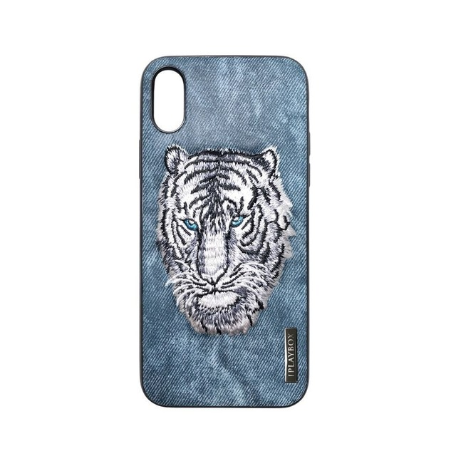 Iplaybox® Japan タトゥー シリーズ TATTOO SERIES iPhone X 対応 CASE - Blue Tiger pattern - Japan Designer limited edition 限定版 青虎
