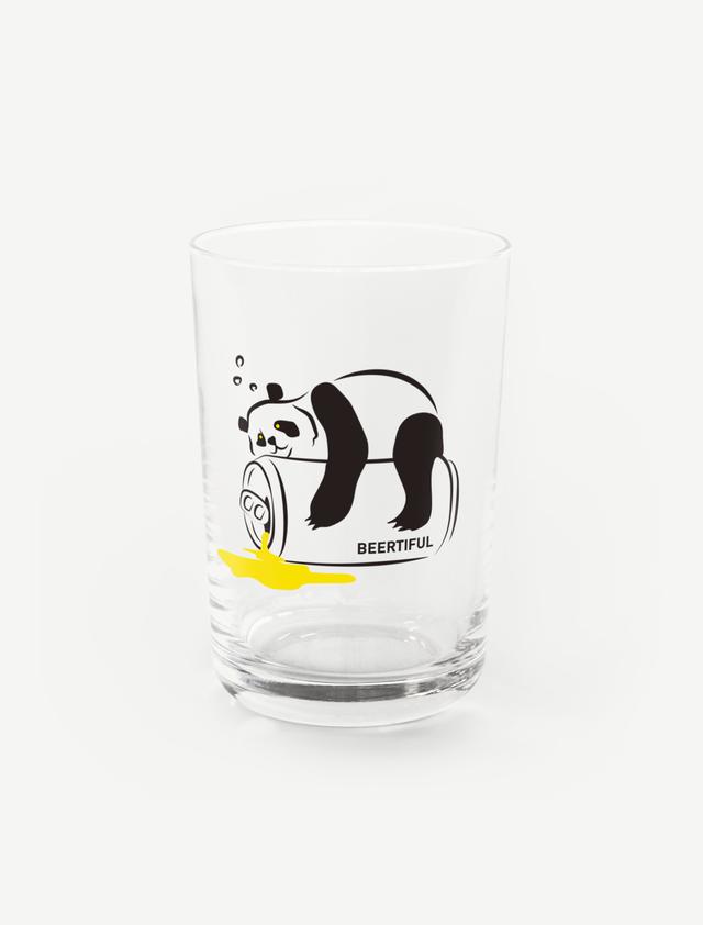 【ほろ酔いパンダ】グラス
