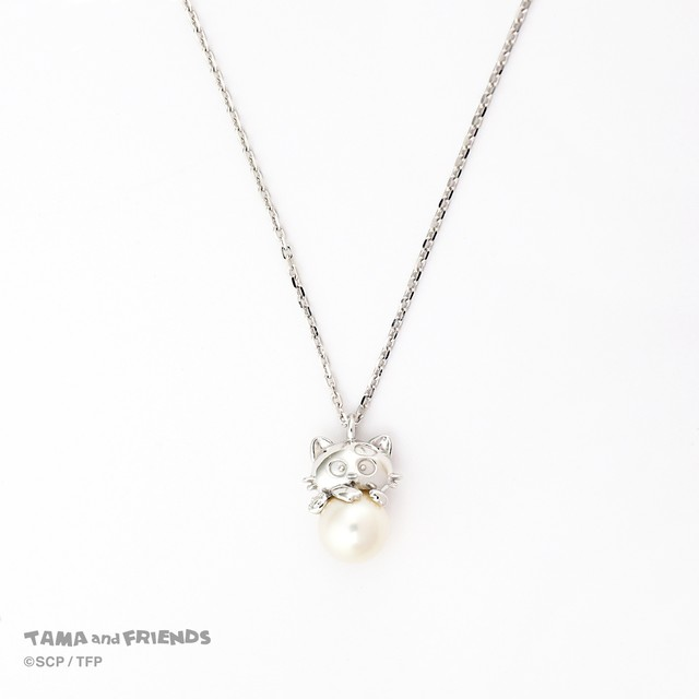 Tama and Friends pearl necklace