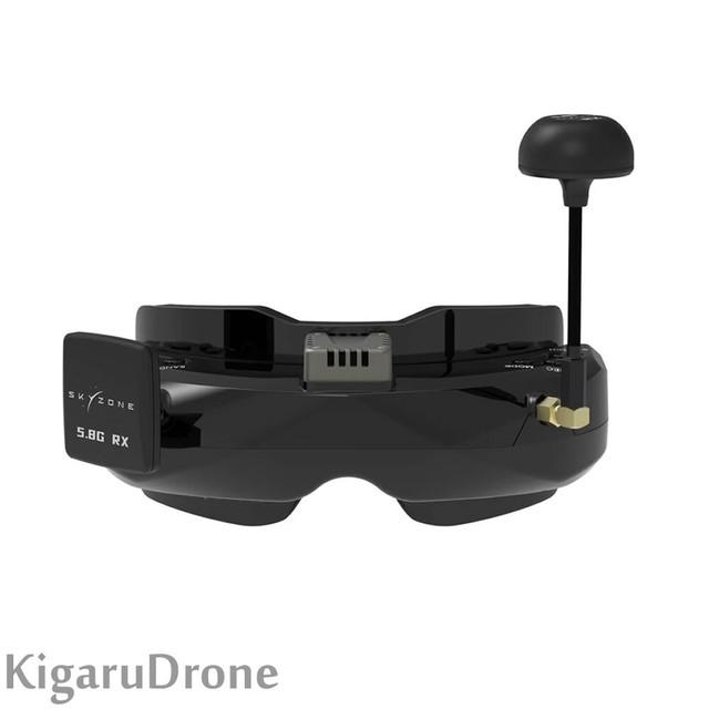 Skyzone SKY02O SteadyView Receiver OLED 640*400 FPV Goggles(DVR付)ゴーグル専用バッテリーサービス