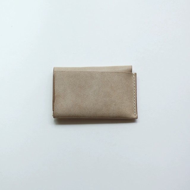 card case - white beige - ALASKA
