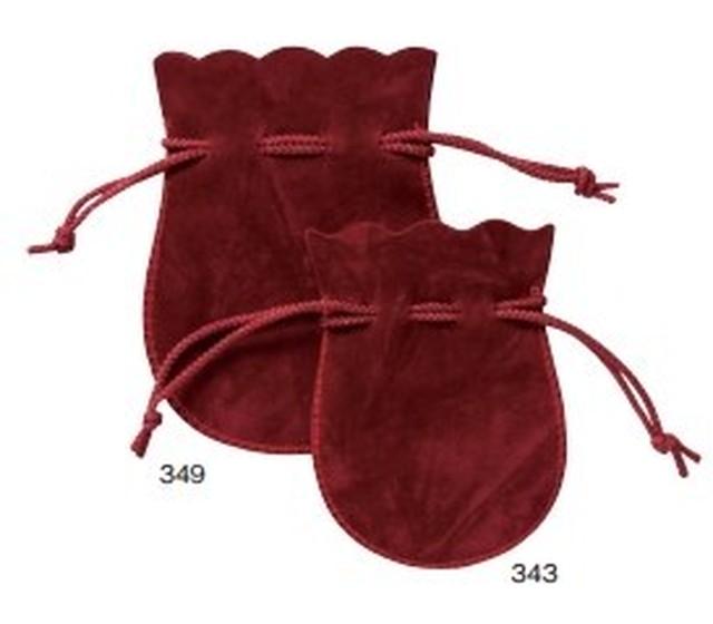 セーム巾着ポーチL ジュエリーポーチ 10枚入り 349