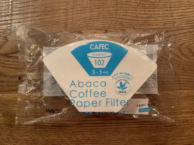Abaca Coffee Filter 100枚入り