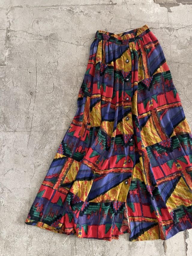 """""""KarenKane"""" USA vintage colorful skirt"""