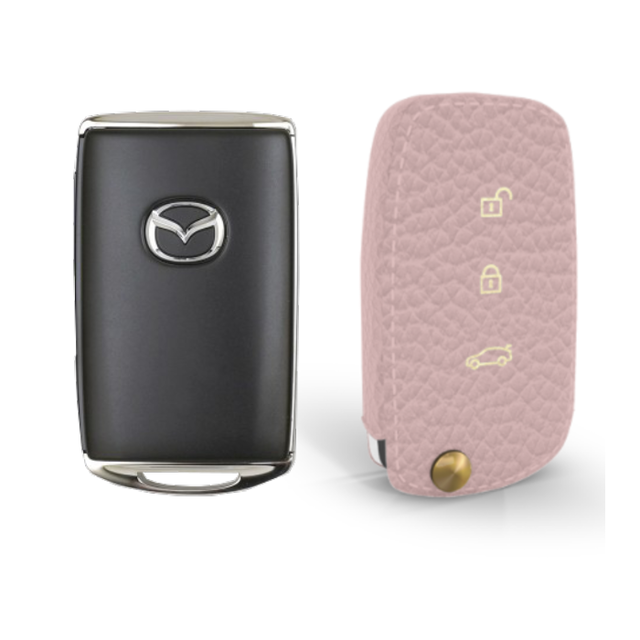 Mazda 専用 TypeB Car Key Case Shrink Leather Case