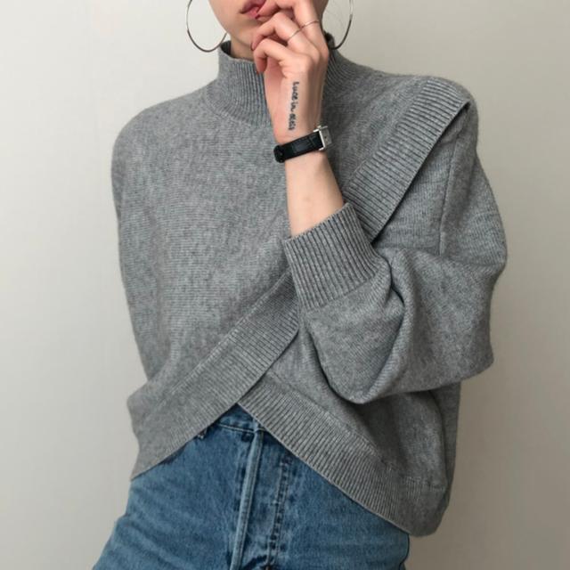 2020AW ハイネックニットセーター