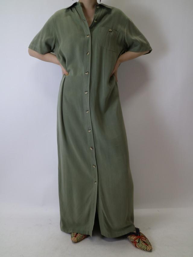 maxi shirt dress【1055】