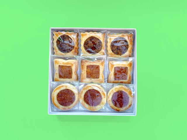【3/25発送分予約】空家スイーツ(ロシアケーキ)9個入り1箱(キウイ/ゆず/かき)