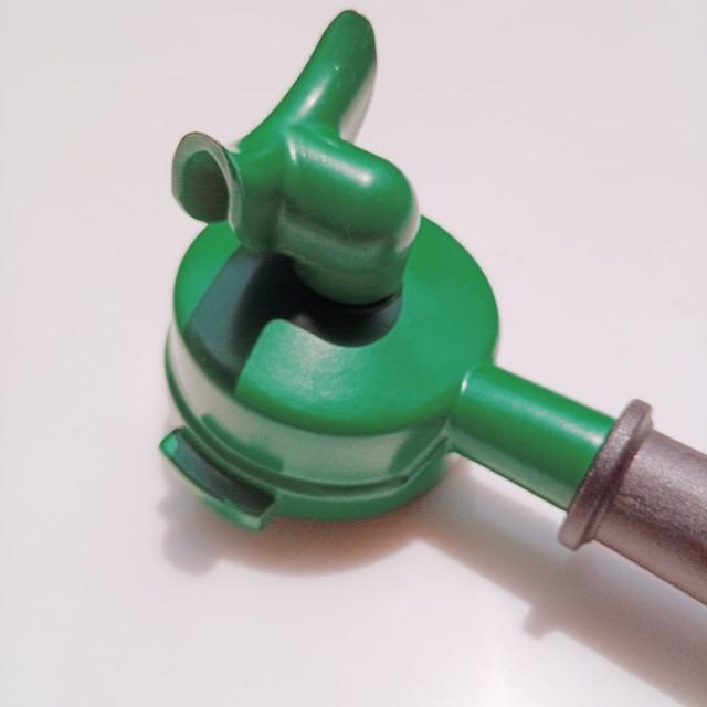 ポルタフィルター●セラミックコーティング La Marzocco用 +ダブルスパウト +プラスティックハンドル