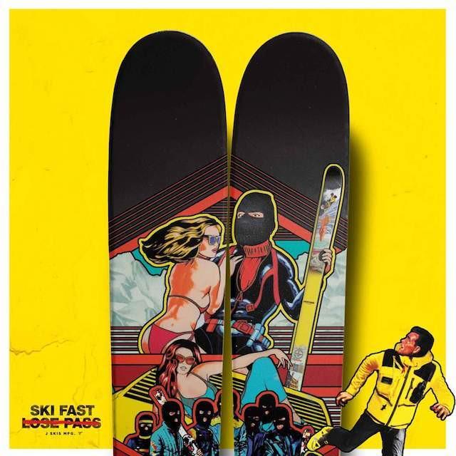 """【メーカー取寄せ】J skis - THE VACATION """"BROTHERHOOD II"""""""