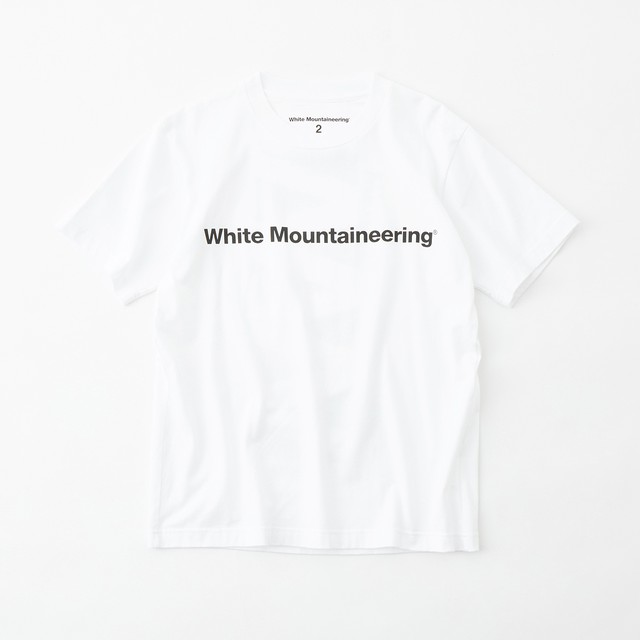 SIDE WM LOGO PRINTED T-SHIRT- WHITE