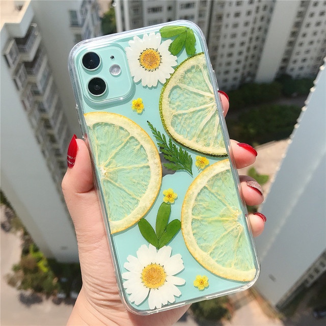 Fruits&flower corsage iphone case